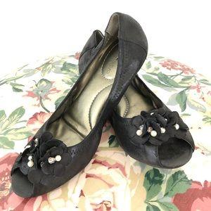 Bandolino Xiley Flats Black Size 6.5